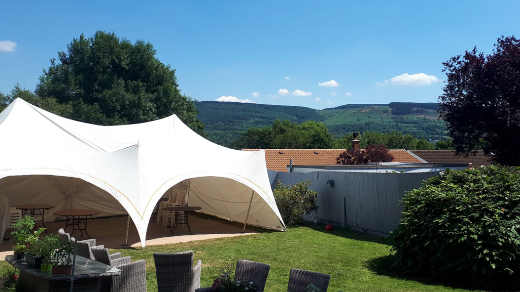 Paul's-Marquee-overlooking-Aberdare